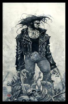Logan watercolor by rogercruz.deviantart.com on @deviantART