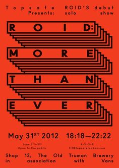 Roid's Solo Debut Show