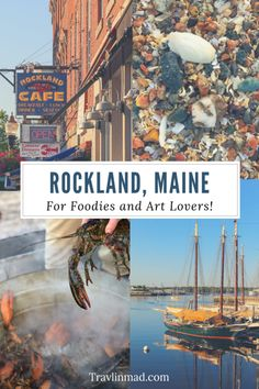 There are so many unique things to do in Rockland Maine for food and art lovers set in one of the most scenic landscapes in the world! Usa Travel Guide, Travel Usa, Travel Tips, Travel Guides, Travel Maine, Travel Checklist, Beach Travel, Travel Hacks, Budget Travel