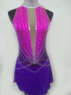 Masterclass * * figure skating dress, roller skating dress, show dance, Acrobatic Rock'n'Roll, Twirling, by Gymcostumes on Etsy https://www.etsy.com/listing/520848688/masterclass-figure-skating-dress-roller