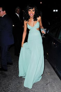 Blue Washington Kerry Washington Blue