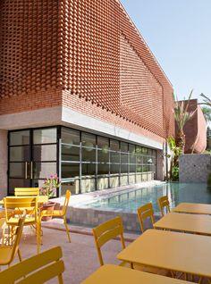 Studio KO celebrates Yves Saint Laurent's oeuvre in Marrakech museum
