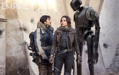 Kaytoo, here he is with Jyn and Cassian in a new still.