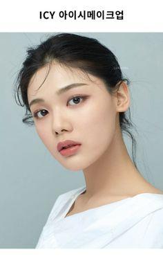 Makeup Stuff, Makeup Looks, Korean Eye Makeup, Girls With Black Hair, Photoshoot Makeup, Salons, Maternity, Make Up, Hairstyle