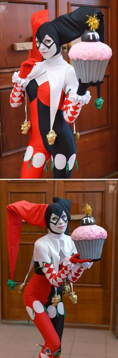 Harley Quinn | http://ryoko-demon.deviantart.com/art/Let-s-play-358321625