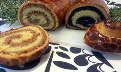 Bejgli - bajgle (fotorecept) - recept   Varecha.sk Muffin, Breakfast, Food, Basket, Morning Coffee, Essen, Muffins, Meals, Cupcakes
