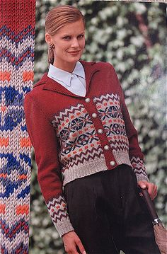 This fair isle cardigan was inspired by one of the most famous sweaters of all time, shown in a portrait of The Prince of Wales, painted in 1921. This portrait made sweater wearing socially acceptable.