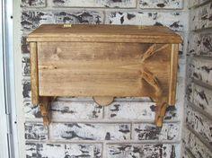 HANDMADE WOODEN MAILBOX on eBay! Wooden Mailbox, You've Got Mail, Box Design, Handmade Wooden, Hope Chest, Custom Furniture, Outdoor Ideas, Pallets, Planting Flowers