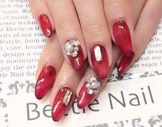Nail Art - Beetle Nail : 八幡|ボルドータイダイ