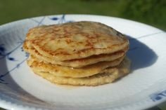Havregrøds-pandekager med sirup