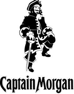 Vote the Captain Morgan logo Captain Morgan, Captain Marvel, Wood Burning Crafts, Cooler Painting, Scrap, Silhouette Projects, Silhouette Cameo, Silhouette Files, Cricut Vinyl