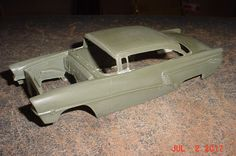 1956 Mercury Montclair Hardtop RESIN 1/25th BODY #QSD