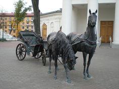Minsk - Street Statue