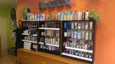 organic and natural products for sale in our #beauty_salon.