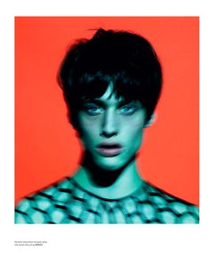 """""""Boyish"""", a project by Mert and Marcus that features a streetcast of young men and tomboy models, with styling by Katie Grand, for the issue #9 of Love magazine."""