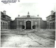 Goulburn Gaol 1900