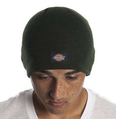 6c8cc1de Dickies Core Dark Green Beanie Hat Core Knit Cuff - NWT Warm Winter Dark  Green #. Mens Beanie HatsKnit ...