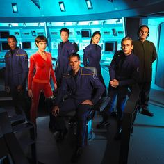 After watching oodles of Star Trek, I think my favorite all together crew would be from Star Trek Enterprise