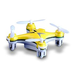 Syeer CX10 Mini 24G 4CH RC Quadcopter Helicopter with Gyro LED yellow >>> Find out more about the great product at the image link.