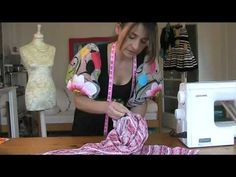 Stitchless TV sewing channel presents.....A sewing tutorial of how to make an original DIY 'Batwing Top'. It takes 15mins to make this top. Making clothes is easy with Stitchless TV. See more tutorials at www.stitchless.co.uk