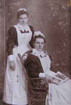 Victorian and Edwardian Maids – Photographs