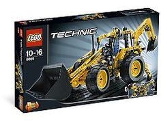 Lego Structures, Lego Technic Sets, Lego Machines, Backhoe Loader, Lego Building, Lego City, Legos, Rc Cars, Delivery