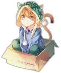 Картинки по запросу картинки аниме Чиби стиле кошки