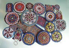 Beadwork from Western Asia, Afghanistan  Pakistan from Global Beadworks.