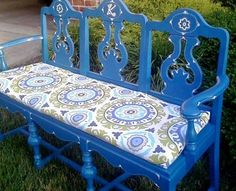 Upcycling old furniture is a great way to avoid purchasing something new. Here are some great ideas to transform those old chairs into a beautiful bench.