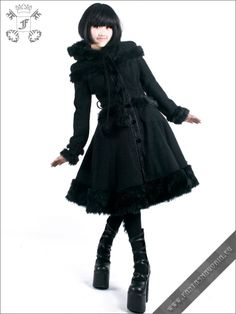 Dolly Coat | Gothic, Steampunk, Rock, Fetish, and other Alternative fashion retail and wholesale apparel & accessories