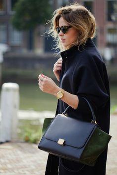 Bu sezon rahat ama kendinden emin salaş bir tarz moda!  #Celine #aw14 #streetstyle #fashion #sunglasses