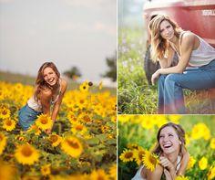 Summer Sunflowers   Versailles KY Senior Photographer » Emme Photography   Blog