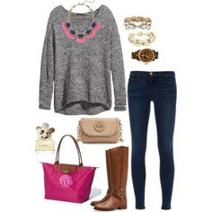 """""""magenta"""" by the-southern-prep on Polyvore"""