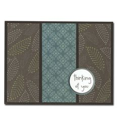 Easy Cards-Pattern Paper-thinking of you