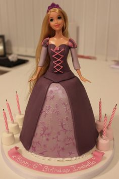Rapunzel Cake....I don't care that I will be 27 my next birthday...I WANT THIS CAKE!!!!!