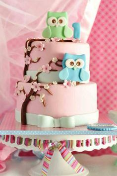 Baykuş pasta