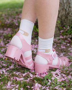 Pre-Order Band-aid Socks http://shop.inu-inu.co/BandAidSocks #kawaii #cute #inuinu #shopinuinu #bandaid