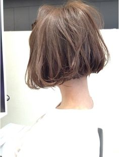 【SHIMA】外国人風ハイライト前下がりボブ Short Bob Hairstyles, Pretty Hairstyles, Medium Hair Styles, Short Hair Styles, Hair Arrange, My Hairstyle, Love Hair, Along The Way, Short Hair Cuts