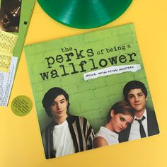 The Perks of Being a Wallflower #ThePerksOfBeingaWallflower #Vinyl #IVinylYou #RevistaMarvin #Marvin #ArtDirection #AlbumCover #Photography #EmmaWatson #EzraMiller