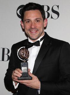 Tony winner Steve Kazee #TonyAwards