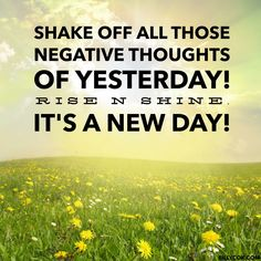 Shake it off. Mottos To Live By, Today Quotes, Good Morning Wishes, Shake It Off, Slimming World Recipes, Negative Thoughts, Inspirational Thoughts, Inner Peace, Happy New