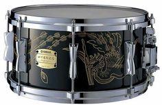 "6.5""x13"" Brass 40th Anniversary Snare Drum."