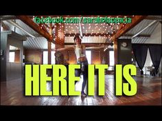 Dance Fitness with Sarah Placencia - Here It Is - YouTube