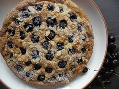 Cherry and almond galette — HOWARD MIDDLETON Gbbo, Sweet Pie, Low Fodmap, Dairy Free Recipes, Plant Based Recipes, Banana Bread, Almond, Cherry, Cookies