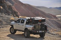 Overlanding and traveling the U.S. outdoors in a Toyota Tacoma.