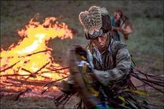 """Chamans :18 photographies incroyables de """"The Gathering Shaman"""" en Sibérie"""