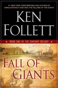 Fall of giants by Ken Follett.  Click the cover image to check out or request the bestsellers kindle.