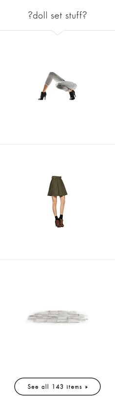 """""""⌜doll set stuff⌟"""" by emcarstairsofla ❤ liked on Polyvore featuring legs, dolls, doll legs, doll parts, bottoms, body parts, floor, effects, backgrounds and fillers"""