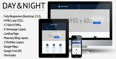 See More Day&Night - Responsive HTML5/CSS3 Templatetoday price drop and special promotion. Get The best buy