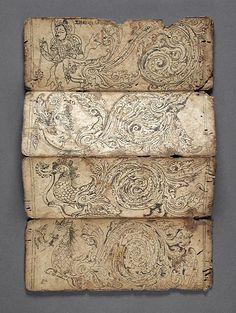 halloween - spellbook - book of Iconography, Nepal 1575-1600